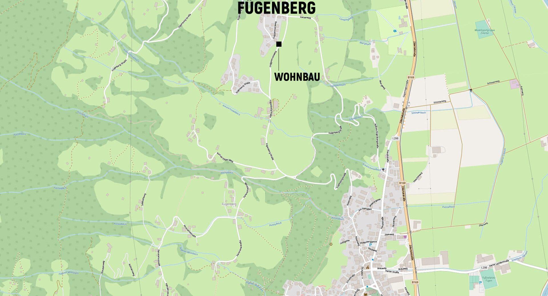 Lageplan_Wohnbau_Fügenberg